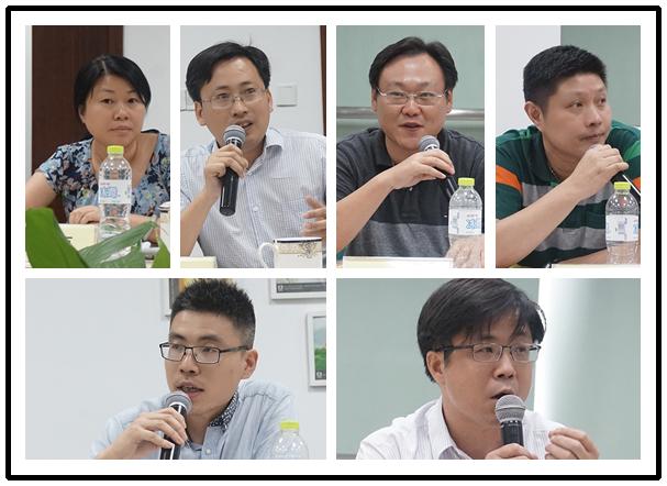 来自南京地区多所学校的管理者和教育行政管理者纷纷发表自己对智慧校园建设的想法与建议