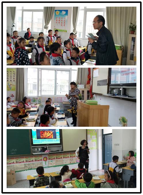 阜阳老师应用焦点智慧教室上课