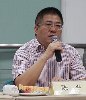 南京市电教馆馆长陈平